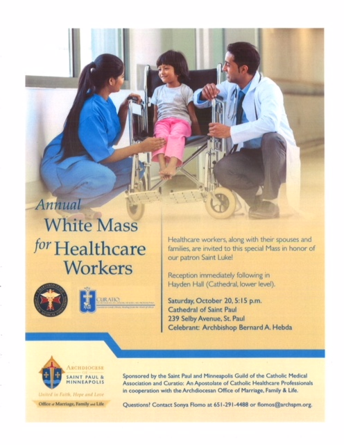 Annual White Mass for Healthcare Workers