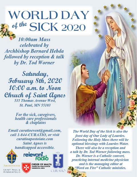 2020 World Day of the Sick
