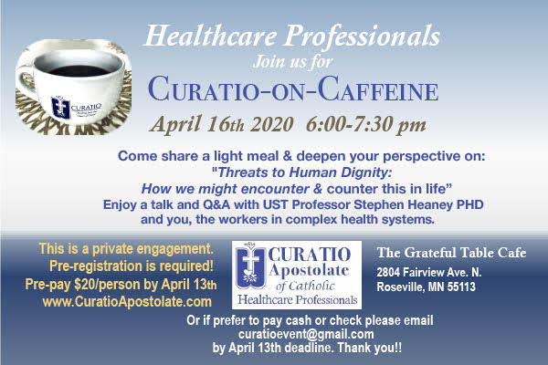 Curatio on Caffeine April 2020